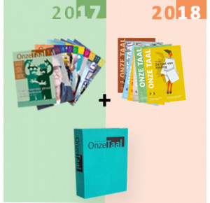 Jaargang 2017 en 2018 met opbergmap