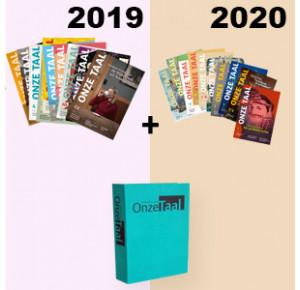 Jaargang 2019 en 2020 met opbergmap