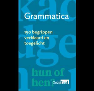 Grammatica - 150 begrippen verklaard en toegelicht