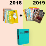 Jaargang 2018 en 2019 met opbergmap