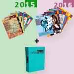 Onze Taal jaargang 2015 en 2016 met opbergmap